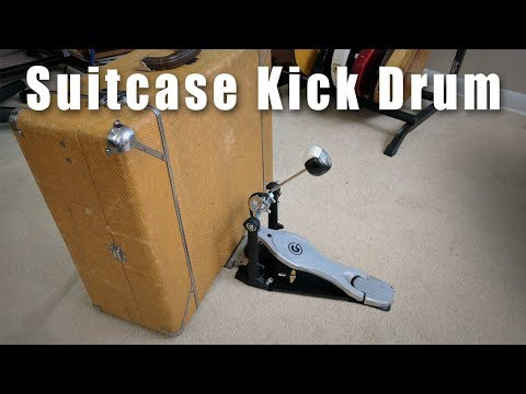 How To Build A Suitcase Kick Drum
