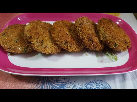 Chicken N Cheese Russian Cutlets In White Sauce