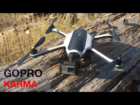 GoPro Karma Drone - First look