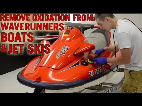 How To Remove Oxidation from Boats, Waverunners, Jetskis & Marine Surfaces