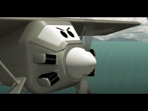 Children's Educational Videos - The Airport Diary - The legendary plane (cartoon 22)