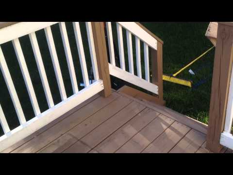 Behr Premium Deck Stain, solid color, 3 year (and 5 year) review