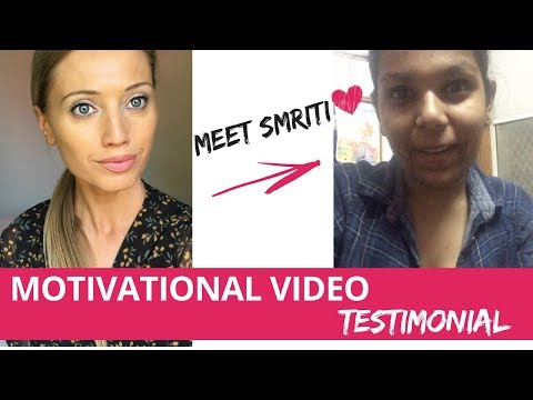 MONDAY MORNING MOTIVATOR - video testimonial of an inspiring weight loss  and health journey