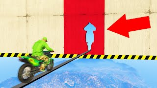 NO ONE Can Make This PRECISION TIGHTROPE! (GTA 5 Funny Moments)