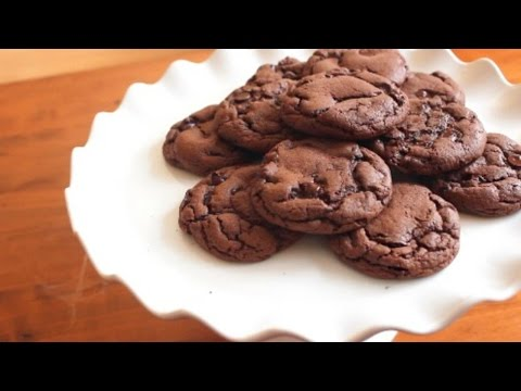 Double Chocolate Cake Mix Cookies | 4 Ingredients