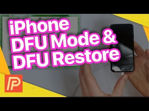 How To Put An iPhone In DFU Mode & DFU Restore Your iPhone!