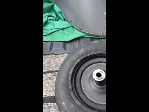 Tubeless wheelbarrow tire repair