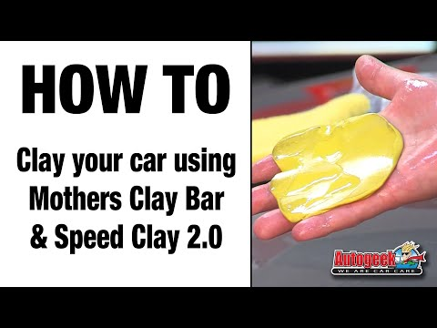 How to use Mothers Clay bar and Speed Clay 2.0
