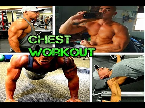 Chest Workout With Only Dumbbells 2017 (Day 5)