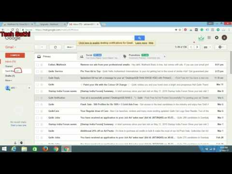 Free Software To Check Sent Mail Status In Gmail In Hindi