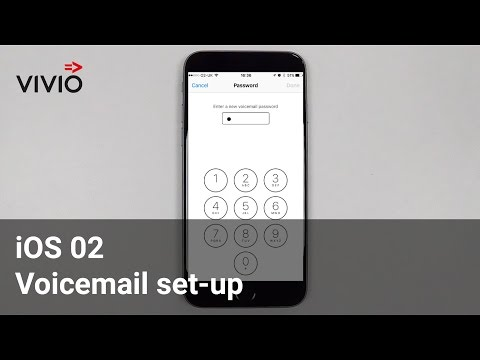 iOS O2 Voicemail set-up