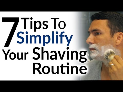 7 Tips to Simplify Your Shaving Routine | Optimize Your Shave | Best Razor | Cold Vs Hot Water