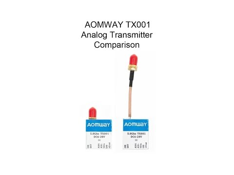 Aomway TX001 Power Switchable Transmitter Comparison