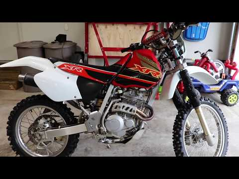 Honda XR250R Street Legal Project : Finally Another Motorcycle!