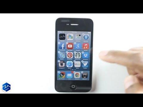Apple iPhone  Making A App Folder Easy