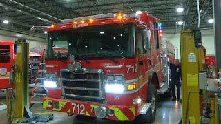 New and Improved Fire Engines Added to MCFRS Fleet