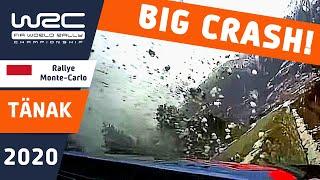 WRC - Rallye Monte-Carlo: CRASH Ott Tänak