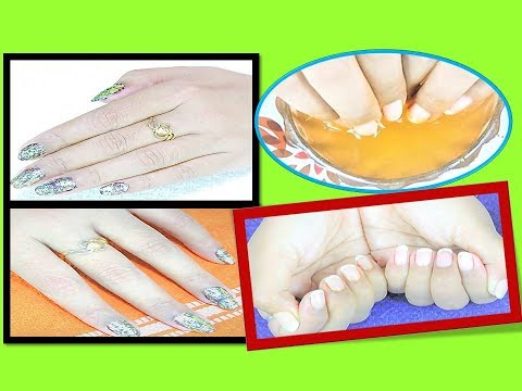 get HARD and LONG NAILS/how to Fast Grow Nails in Hindi