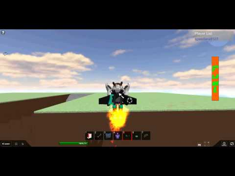 How to use a roblox jetpack part 2