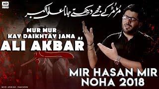 Nohay 2018 | Daikhty Jana Ali Akbar ع | Mir Hasan Mir Noha 2018 | Noha Mola Ali Akber | Nohay 2019