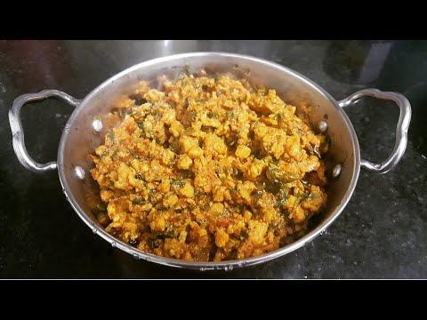Chicken Kheema Methi/ Minced Chicken Fenugreek/ Sehri Special