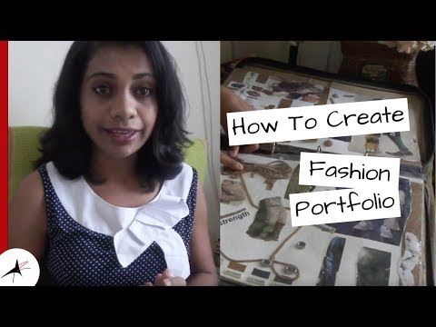 How To Create A Fashion Portfolio | What To Include In That? (NIFT) | Arpitha Rai