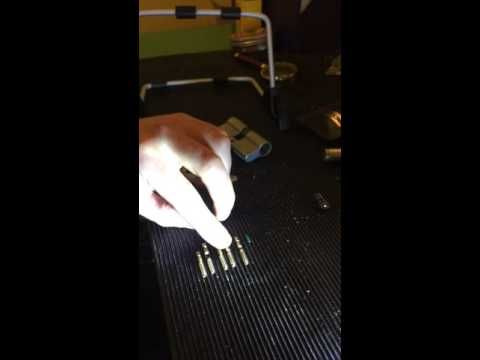 How to pick open and strip a cylinder