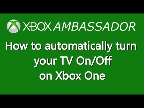 How to automatically turn your TV on and off on Xbox One | Xbox Ambassador Series
