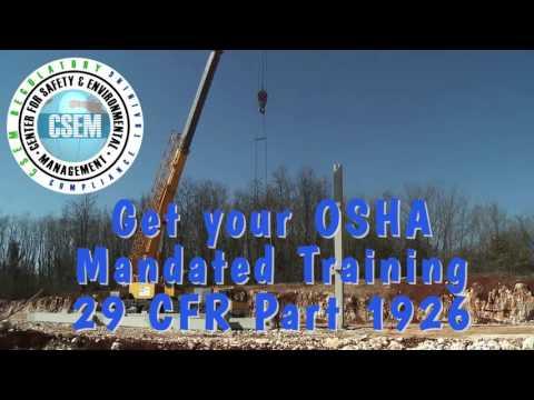 OSHA 30 hour General Construction