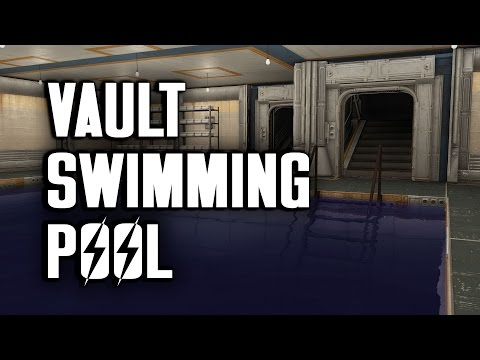 Let's Build a Vault Swimming Pool - Vault-Tec Workshop for Fallout 4 - PC Mods Used