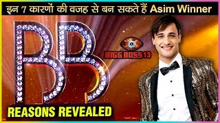 Asim Riaz The MOST Deserving Contestant To Win Bigg Boss 13? | 7 Reasons Why!