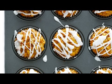 Wholesome Carrot Muffins