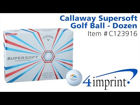 Branded Callaway® Supersoft Golf Balls – Promotional Golf Balls at 4imprint