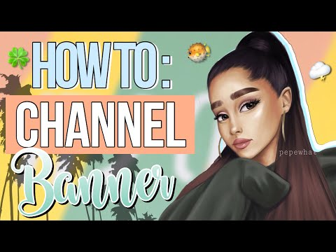 HOW TO : CHANNEL BANNER🐝| how to upload/change banners + collab