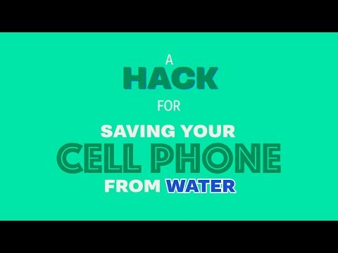 How to Save Your Cell Phone when Dropped in Water