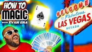 6 Magic Card Tricks in Las Vegas!