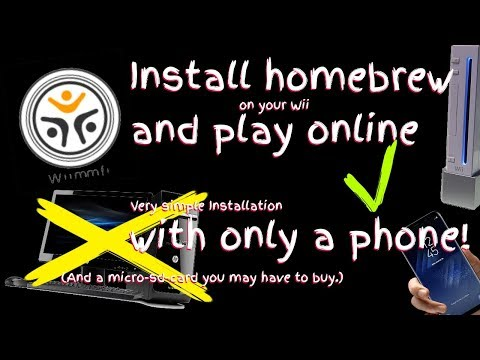 How to install Homebrew and Wiimmfi on your Wii (With a phone) [Working]
