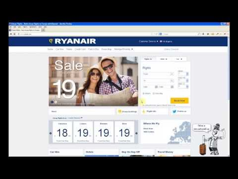 How to book Ryanair flight tickets