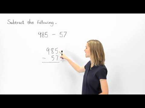 Subtraction | Subtracting Whole Numbers | MathHelp.com