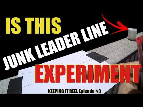 Stretch Test Mono Leader Line Experiment Junk Exposed (Sea Striker Review)