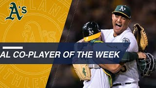 Sean Manaea named AL Co-Player of the Week
