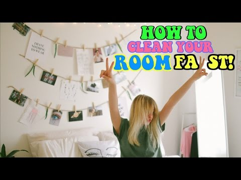 How To Clean Your Room FAST + Cleaning Hacks 2017!