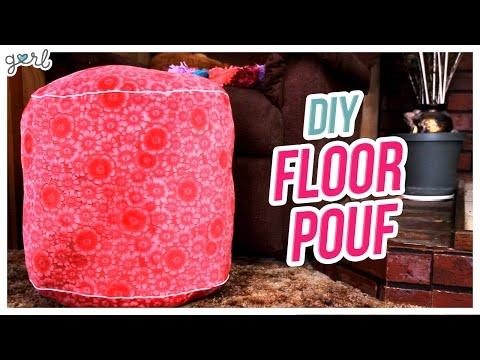 Do it, Gurl – DIY Floor Pouf