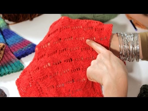 How to Do Lace Stitches | Knitting