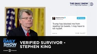 Verified Survivor - Stephen King: The Daily Show