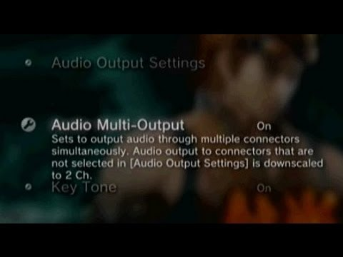 How To Output PS3 Audio To HDMI, RCA & Optical Simultaneously