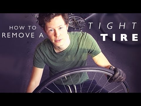 Quick Cycling Tip: How to Remove a Tight Tire the Easy Way