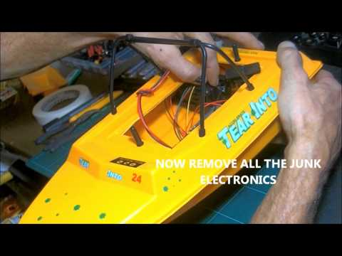 NQD JET BOAT BUILD VIDEO  PART 1 TEAR IN TO,