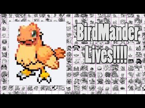 I Fused Pidgey And Charmander In Pokemon Fire Red Leaf Green