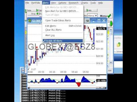 HPT's ATS Tutorial Part 4 - Bracket Trader Setup & Live Tra